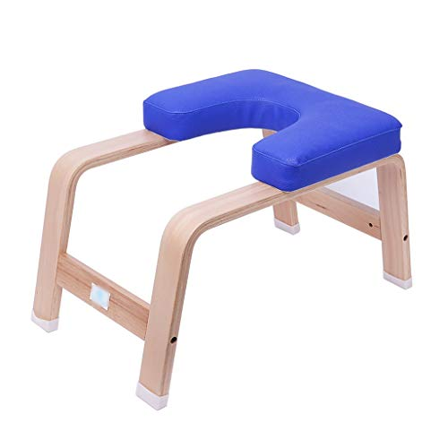 Tangzhi Gymnastik-Stuhl, umgekehrt, für Yoga, Artefakt, umgekehrt, aus Holz, für Yoga, Gymnastikstuhl, Rückwärtsgang, belastbar bis 200 kg, weiß, 30 * 65 * 37CM