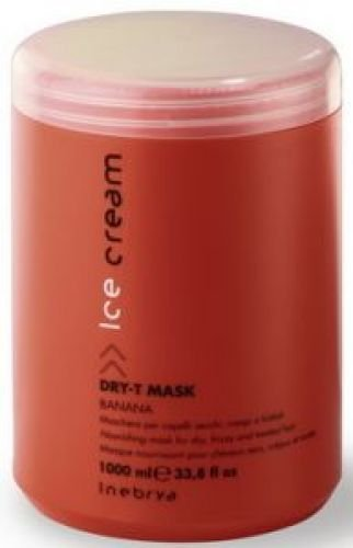 Inebrya Ice Cream - Dry-T Haarmaske | Für trockenens Haar 1000ml