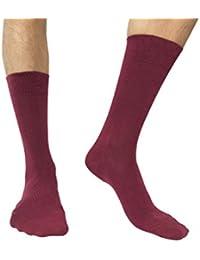 Amadeos Calcetines hombres algodon peinado de alta calidad - Tallas 36 a 46
