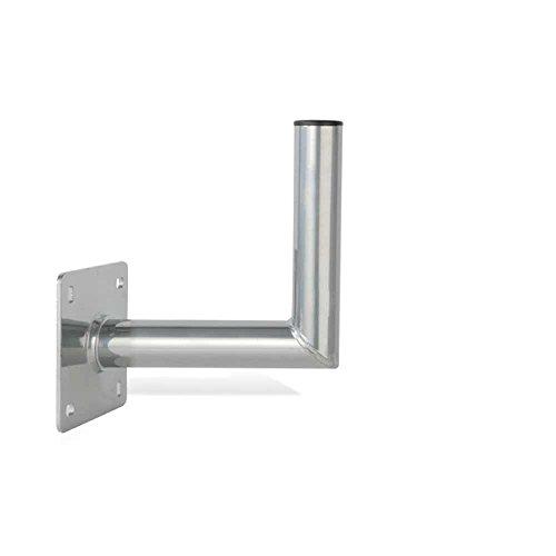 PremiumX 25cm Wandhalter ALU SAT Wand Halter aus Aluminium Wandhalterung TÜV-Geprüft Wandabstand 25 cm