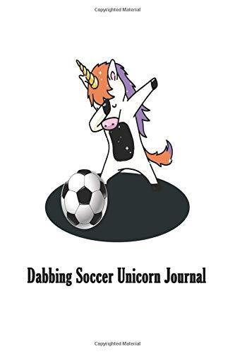 adb3807a8 Dabbing Soccer Unicorn Journal  Dabbing Unicorn Sports Kids Notebook