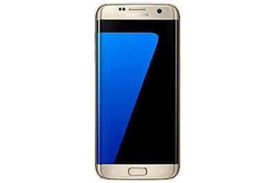 Samsung Galaxy S7 Edge 32GB 5.5in 12MP SIM-Free Smartphone in Gold (Renewed)