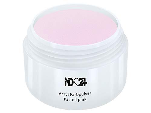 15G - PRIME LINE - Acryl Farbpulver Pastell pink ROSA - Feinstes FARB Acryl-Puder Acryl-Pulver Acryl-Powder - STUDIO QUALITÄT - Rosa Acryl Pulver