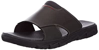Rockport Men's Rcspt Lt Summer Slide Clogs  Black Size: 5.5