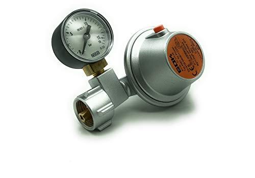 GOK Sicherheitsregler Gas Ausführung 50 mbar passt für 5 und 11 kg Propan-Gasflaschen