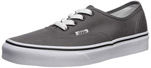 Vans Authentic, Zapatillas de Tela Unisex, Gris (Pewter/Black), 42.5 EU, Gris (Pewter/Black), 42.5 EU