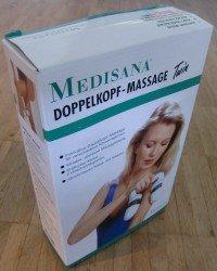 Medisana Doppelkopf Massagegerät Massage Twin