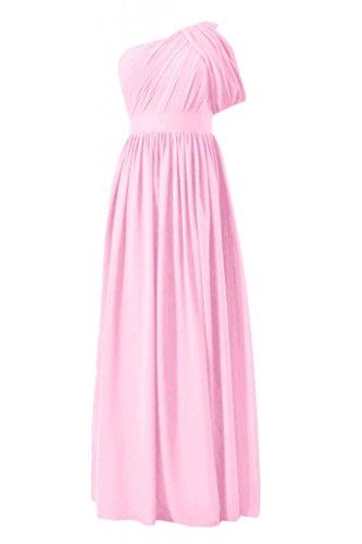 daisyformals Vintage longue robe de demoiselle d'honneur robe de demoiselle d'honneur W/sangle (bm281l) Rose - #20-Ice Pink