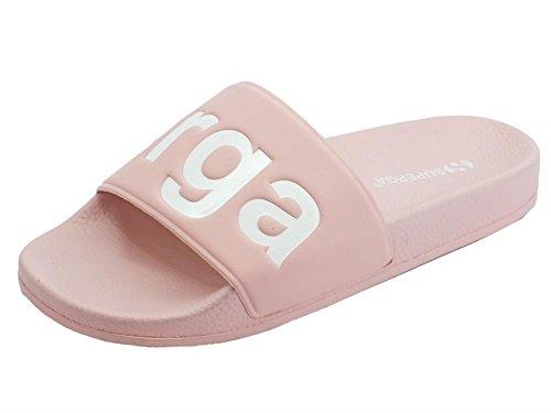 Superga Women's 1908-Puu Women's Slides in Pink in Size 41 Pink
