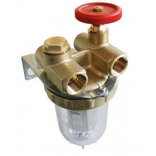 OVENTROP - FILTRO GASOIL - FILTRO CON GRUPO DE CIERRE CON DOS CONDUCTOS HH3/8 CON RACOR - : 2120103