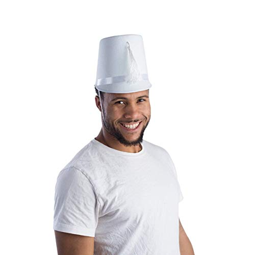 Kostüm Band Marching - Dress Up America Erwachsener weißer Blaskapelle Hut