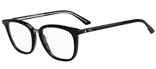 Christian Dior - MONTAIGNE35, Rechteckig, Acetat, Damenbrillen, BLACK(VSW), 51/18/145