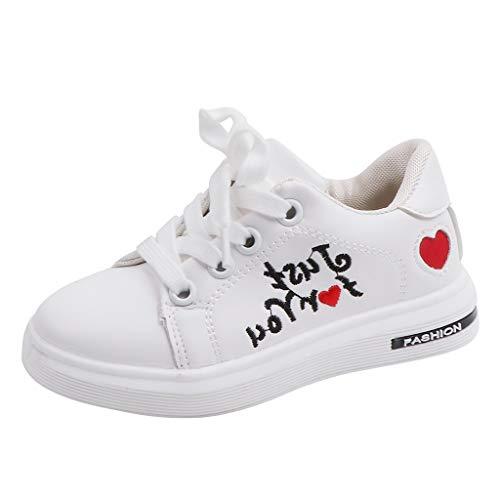 LianMengMVP Scarpe da Ginnastica Basse Unisex Scarpe Ragazza Toddler Kids Scarpe da Sport Running Baby Shoes Ragazzi Soft Sole Shoes Sneakers Ragazze Traspirante Scarpe