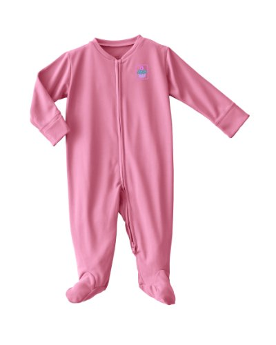 HALO ComfortLuxe Coverall For Sensitive Skin -3-6 Months-Pink Cupcakes
