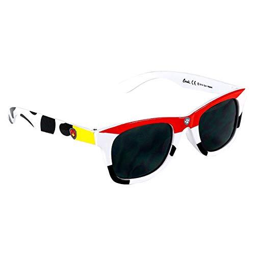 Jungensonnenbrille Premium Paw Patrol Marshall | 3+ Jahre | Glas schwarze Farbe und 100% UV400-Schutz | Leichtes Material