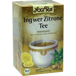 YOGI TEA Ingwer Zitrone Bio Filterbeutel 30.6 g Filterbeutel