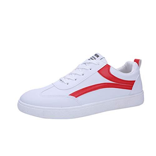 MMLC_Scarpe Scarpe da Skateboard Uomo, Ginnastica Basse Traspirante Sportive Corsa Confortevole Sneakers Casual all'aperto