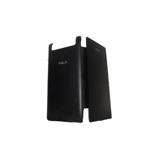 NKCreations Flip Book Cover Case for Lava Xolo A500s (Black)