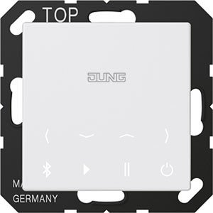 Jung BTC A 508 WW Bluetooth Connect Serie A alpinweiß, Bluetooth-serie