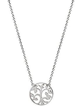 XENOX XS2896 Damen Collier Lebensbaum Symbolic Power Sterling-Silber 925 Silber 45 cm