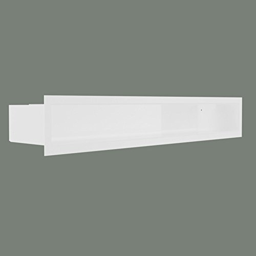 Luftleiste Zuluftgitter Luftgitter 600x90mm weiß