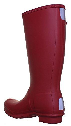 Original Hunter Original enfant junior Bottes en caoutchouc Taille UK 12–5Euro 30cm Red FV1