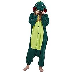 e78443794 Pijama Kigurumi Animados Cosplay Dinosaurio Animal para Adulto Unisex  Hombre Mujer
