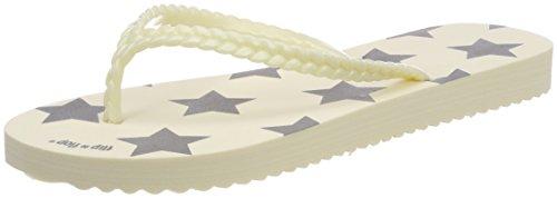 flip flop Damen Slimstar Zehentrenner, Elfenbein (Marshmallow), 41 EU