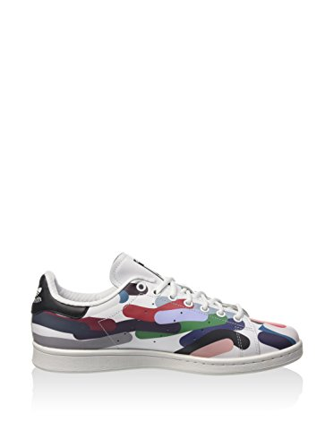 adidas Originals Stan Smith, Sneakers Unisex – Adulto Multicolore (White/White/Core Black)