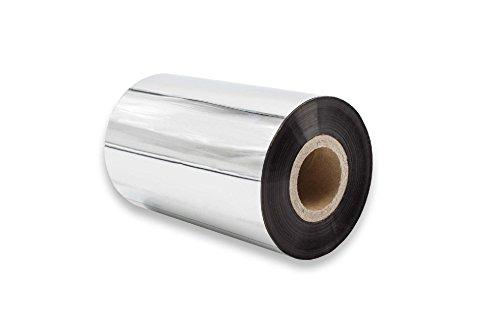 Vhbw pellicola termica rotolo termico nero 100mm per fax o stampante zebra 105se, 105sl, pax-serie, s-serie, s400, s4m, s600, xi-serie, xi110