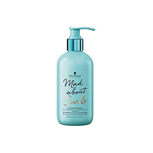 SCHWARZKOPF Mad about Curls Low Foam Cleanser Shampoo, 2er Pack(2 x 300 ml)