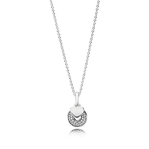 Pandora collana con ciondolo donna argento - 390404cz-70