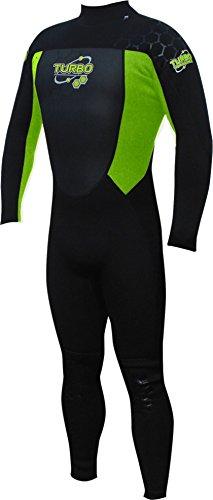 Turbo - Traje de neopreno completo para hombre, hombre, Full, verde