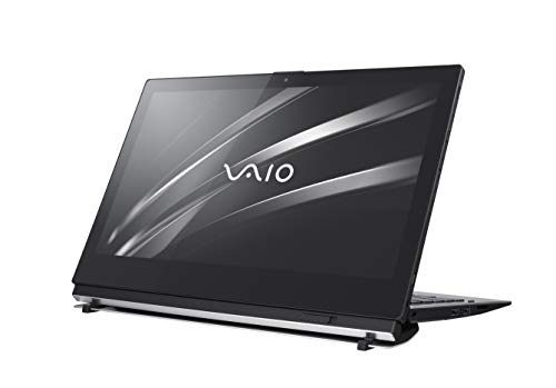 VAIO A12 2in1 Convertible Laptop 31,75cm (12,5 Zoll Full-HD IPS-Display, Intel Core i5-8200Y , 256GB SSD, 8GB LPDDR3 RAM, Win 10 Pro, VAIO Digitizer Pen, Bluetooth, W-LAN, LTE) Tablet, Schwarz