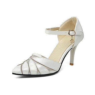 Zormey Frauen Heels Frühling Sommer Club Schuhe Komfort Neuheit Kundenspezifischen Materialien Kunstleder Hochzeit Party Im Freien&Amp; Abendkleid Casual US6.5-7 / EU37 / UK4.5-5 / CN37