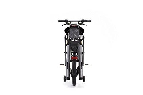 Stigo Bike 200W E-Scooter, schwarz/silber - 2