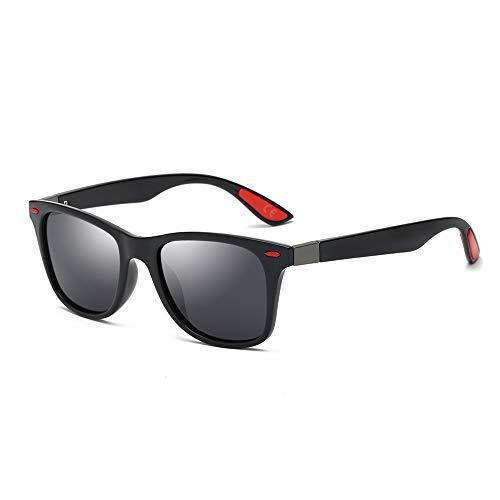 786b73073c AMZTM Gafas de Sol Retro Clásicas para Hombre Polarizadas Lente TAC Gafas  Cuadradas TR90 Protección UV