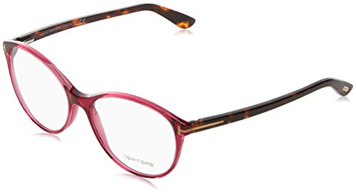 Tom Ford Damen Ft5403 Brillengestelle, Pink (FUCSIA LUC), 54