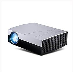 Full HD Home Cinéma Projecteur DLP jeu Soutien projection filaire sans fil Correction trapézoïdale verticale (3500 lumens,1080p,HDMI, haut-parleurs)