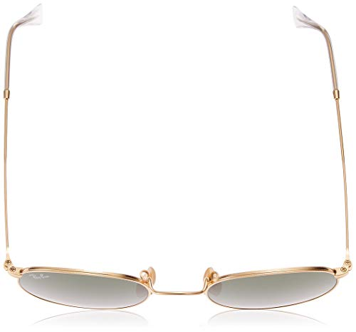 Ray-Ban RB 3447 47 001 Rb 3447 Round Sunglasses 47, Gold Img 3 Zoom