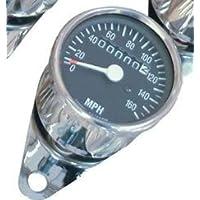 Mini tachimetro cromato con Miglia (UK) 60mph:2240rpm
