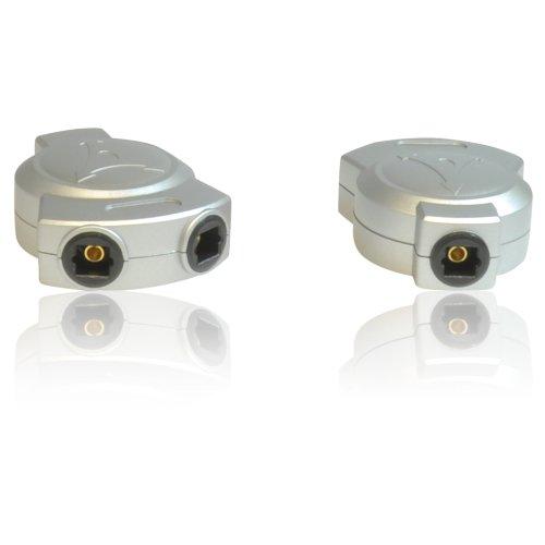 CDL Micro TOSLINK - sdoppiatore ottico-digitale a due uscite per cavo audio principale