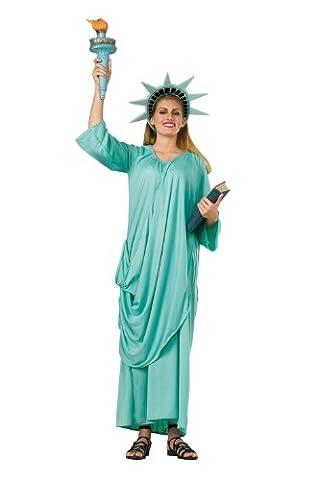 Damen Kostüm Freiheitsstatue Miss Liberty Gr. 36 bis 42