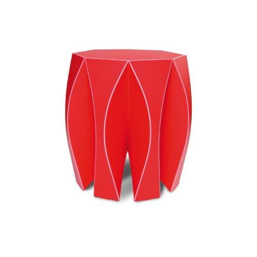 NOOK Designhocker Rot vial