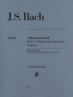 SONATEN 2 - arrangiert für Querflöte - Klavier [Noten / Sheetmusic] Komponist: BACH JOHANN SEBASTIAN