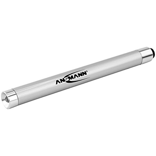 ANSMANN LED Taschenlampe X15 inkl. AAA Batterie - LED Handlampe optimal geeignet für alltägliche Einsätze im Haus Garten Garage Auto oder Werkstatt - LED Stiftleuchte klein & handlich