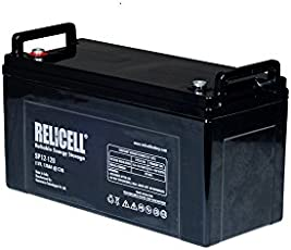 Relicell Maintenance Free UPS Battery 12V 120AH - 24 Months Warranty