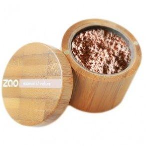ZAO Mineral Silk 502 rosa-hell-beige loser Puder, Mineral-Make-up in Bambus-Dose (bio, Ecocert, Cosmebio, Naturkosmetik) -