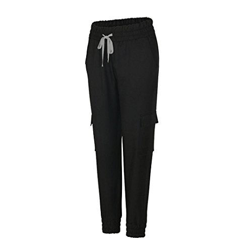 HLHN -  Pantaloni sportivi  - Donna Black