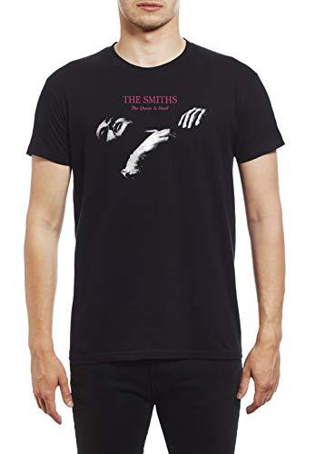 Hochwertiges T-shirt (The Smiths Queen Is Dead Men's Fashion Qualitativ hochwertiges T-Shirt., Schwarz - Schwarz, L)